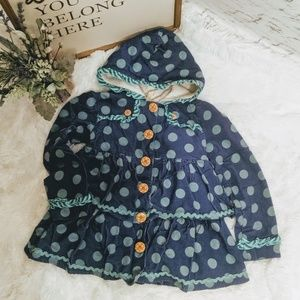Matilda Jane corduroy ruffle jacket
